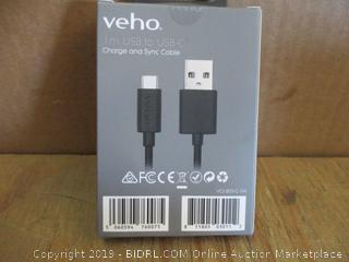 Veho 1m USB to USB-C Charge and Sync Cable