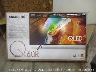 "Samsung QLED  65"" See Pictures"