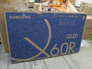 """Samsung 75"""" Cracked Screen See Pictures"""