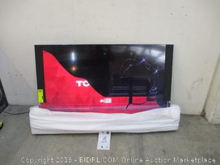 TCL TV Cracked Screen See Pictures 65""