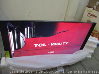 "TCL Roku TV  65"" Cracked Screen See Pictures"