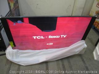 "TCL Cracked Screen 65"" See Pictures"