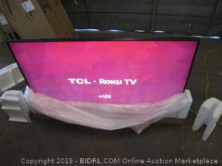 "TCL 4K HDR 55"" in box see pictures"