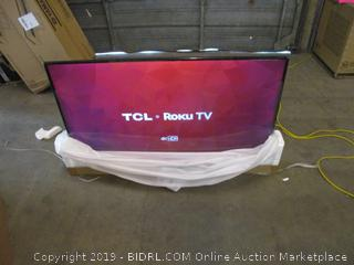 "TCL Roku 4K HDR TV 55"" Smart TV See Pictures"