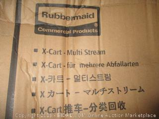Rubbermaid X-Cart Multi Stream