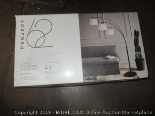 Shaded Arc Floor Lamp