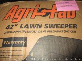 Agri-Fab 45-0320 42-Inch Tow Lawn Sweeper (Retail $225.00)