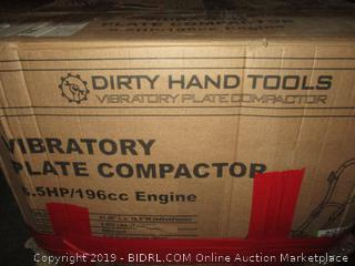 Dirty Hand Tools Vibratory Plate Compactor
