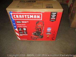 CRAFTSMAN CMXGWAS021021 2800 MAX PSI 2.3 MAX GPM Gas Pressure Washer Powered by Briggs & Stratton 163cc Engine, Made in USA with Global Materials (Retail $319.00)