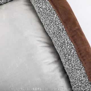 Love's cabin Basic dog bed Brown 3XL 39.4 in x 31.5 in x 8.7 in. (online $159)