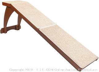 Solvit Wood Bedside Dog Ramp - cherry (online $124)