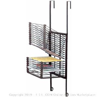 Sax Over-The-Door Drying Rack, 20 Shelves(Factory Sealed/Box Damage) COME PREVIEW!!!!! (online $91)