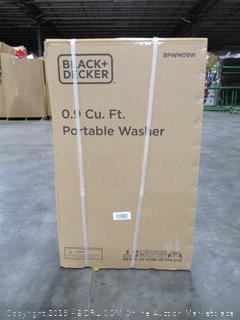 Black & Decker 0.9 Cu. Ft. Portable Washer