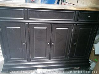 Courtdale sideboard dresser (some knobs broken/ bottom corner chipped) online $635