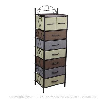 Household Essentials 8044-1 Victorian 8 Drawer Tower - Galleon (online $102)