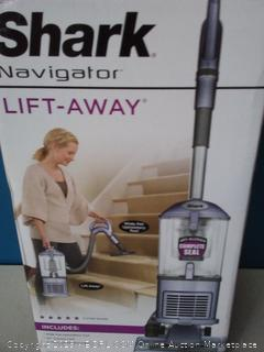 Shark Navigator Upright Vacuum for Carpet and Hard Floor with Lift-Away Handheld HEPA Filter, and Anti-Allergy Seal (online $169)