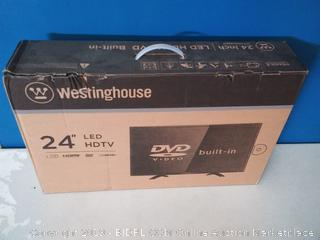 "Westinghouse WD24HB6101 24"" LED 720p HDTV 60Hz DVD Built in 1 x HDMI port (online $133)"
