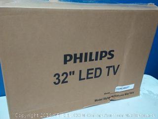 "Philips 32"" Class HD (720P) Smart Roku LED TV (32PFL4664/F7) online $128"