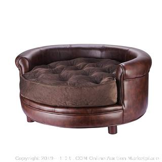 Deluxe Pet Bed Brown (online $160)