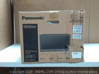 Panasonic Microwave Oven, Stainless Steel Countertop (online $299)