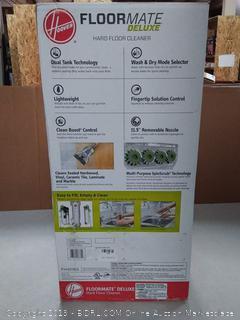 Hoover FloorMate deluxe hard floor cleaner machine lightweight upright wet-dry vacuum silver (online $149)