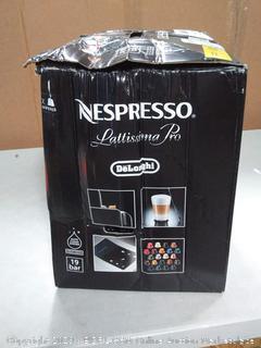 Lattissima Pro Nespresso Capsule Machine by Delonghi (online $359)