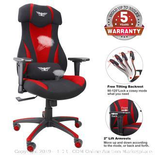 mesh gaming racing chair (online $199)
