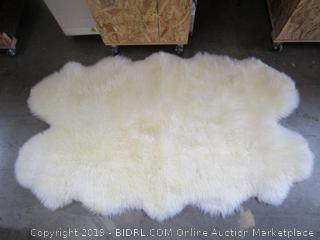 Windward Genuine Sheepskin Area Rug
