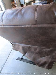 Brown Leather Jacob Power Recliner Chair