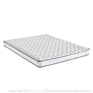 Classic Brands Emory 6 Inch Bonnel Innerspring Firm Mattress Twin Size Factory Sealed (online $116)