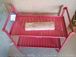 Red Folding Cart