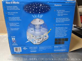 Vicks Starry Night Humidifier