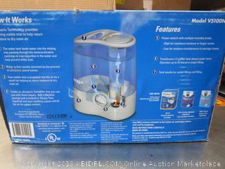 Vicks Ultra Quiet Humidifier