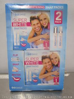 Super White Go Smile Strips