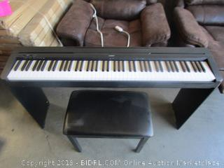 Yamaha Digital Piano Keyboard w/stand & bench (retail $599)
