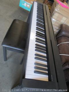 Yamaha Digital Piano Keyboard w/stand & bench (retail $599)