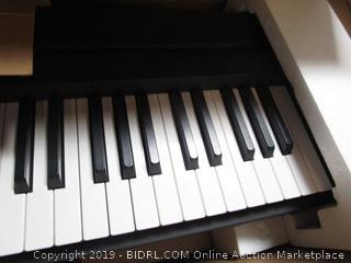 Yamaha Digital Piano Keyboard With Bench (retail $599)