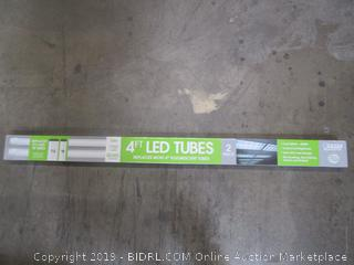 2pk: Feit 4-foot LED Tubes - Replace T12 & T8 Flourescent Tubes with LED!