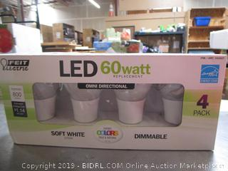 Feit LED 60W Soft White Dimmable Light Bulbs