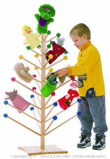Steffy Wood Products puppet tree (puppets and kid not included) online $119
