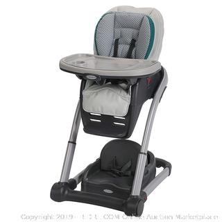 Graco Blossom 6-in-1 Convertible Highchair, Sapphire (online $134)