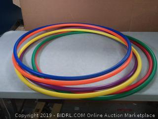 36 in standard hula hoops 6pck