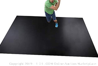 Square36 Cardio Black Label Extra Large 8 x 6 Exercise Mat (Online $199)