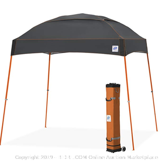 E-Z Up Dome canopy 10 x 10 orange and grey (Online $158)