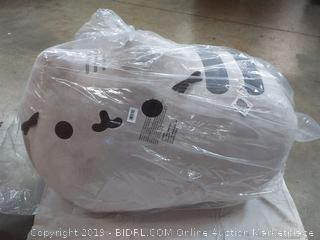 """GUND Pusheen Cat Super Jumbo Plush Stuffed Animal, Gray, 41"""" (Online $356.49) (C3)"""