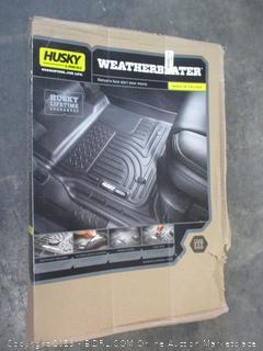 Husky Weatherbeater Front Floor Liners