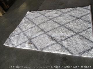 rug - slight damage