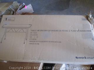 4' blow mold flip table