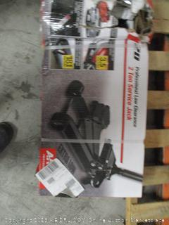 Professional low clearance 2 ton service jack