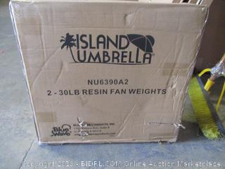 island umbrella item